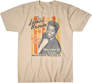 Liquid Blue Men's Fabulous James Brown T-Shirt