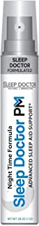 Melatonin Sleep Aid Spray by Sleep Doctor PM — Fast-Acting All-Natural Sleep Spray — Sleep Aid That Quickly Induces Natura...