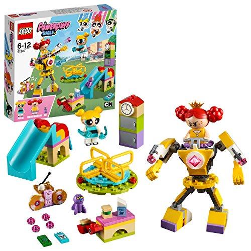 LEGO 41287 Atomówki bańki dla dziewcząt, księżniczki morbucks minifigurki i Mech Suit zabawny zestaw do zabawy