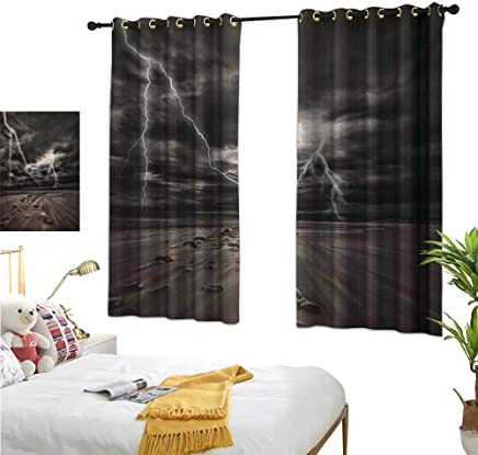 S Brave Sky Decor Curtains by,Nature,55