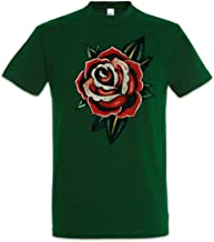 Urban Backwoods Tattoo Rose Men T-Shirt