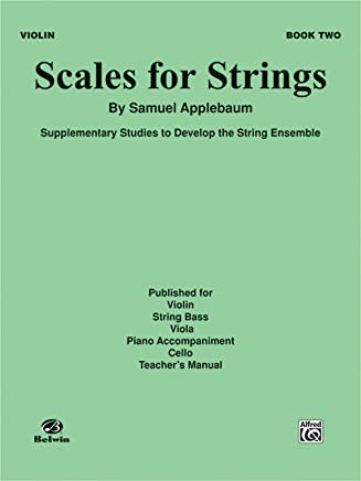 Scales for Strings, Book II Violin