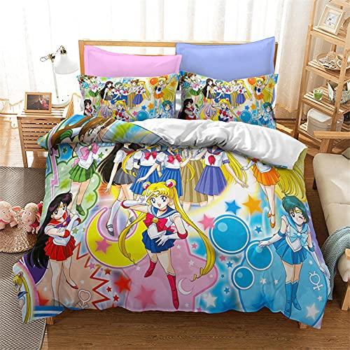 Sailor Moon Ropa De Cama sailor moon ropa  Marca CXHMY