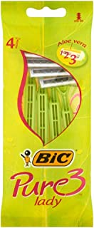 Bic 872929 Pure 3 Lady Razor & Blade, Pack Of 1