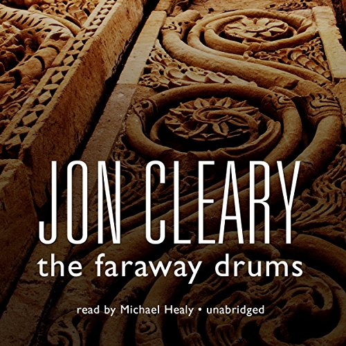 The Faraway Drums audiobook cover art