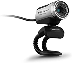 ANTZZON 1080P Full HD Webcam, Built-in Noise Reduction Microphone Stream Webcam for Video Conferencing, Online Work&Course...