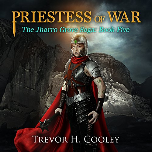 Priestess of War audiobook cover art