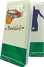 ケース REGZA Phone T-02D 互換 手帳型 バスケ バスケット バスケットボール ボール スポーツ デザイン イラスト レグザフォン レグザ 互換 手帳型ケース ユニーク おもしろ おもしろケース T02D REGZAPhone ...