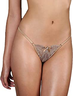 88810ee6e340 ANGE DÉCHU Sexy Lingerie Lace Panties - G-String Thong Erotic Sheer  Sensations