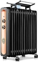 HKDJ-Radiador De Aceite Warm Space,Dispone De 3 Ajustes De Potencia Y Control Termostático De Temperatura,Bajo Consumo,Fácil Transporte,11piece