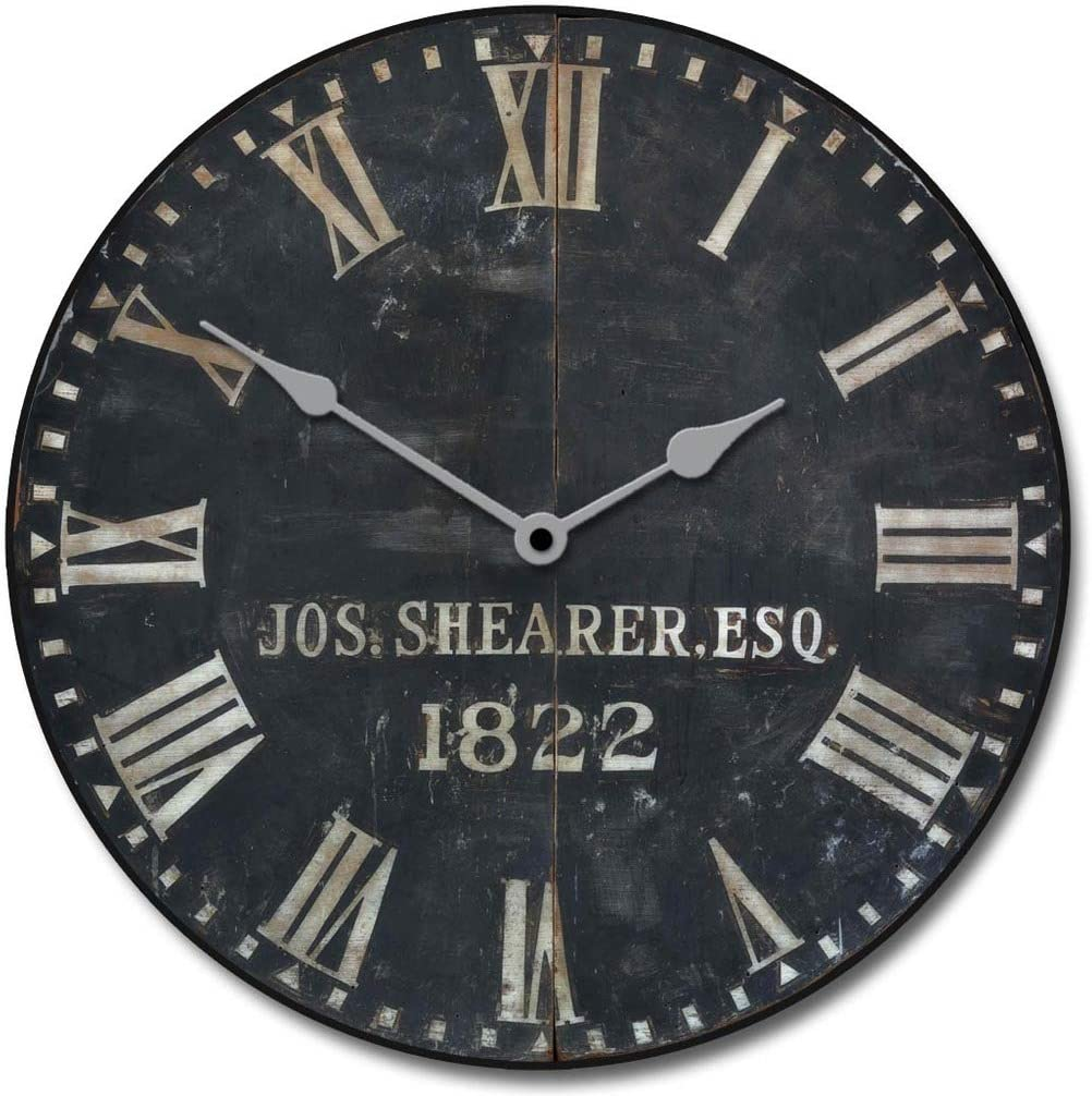 1822 Old Sheriffs Wall Clock 8 New product type Sizes Great Bedroom for Living Max 56% OFF