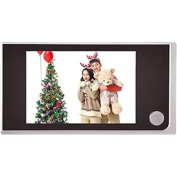 Mirilla Digital, Cámara Mirilla,Visor de Mirilla de Puerta Pantalla 720P HD 3.5 Inch Color+Ángulo de Visión 120°,para Casa/Hotel/Oficina