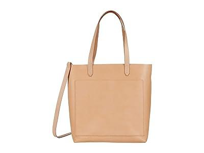 Madewell Medium Transport Tote in Vachetta (Ashen Sand) Handbags