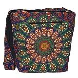B08.04 - Bolso bandolera, diseño étnico, bohemio, hippie y Goa