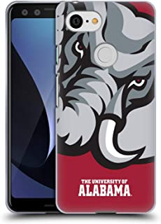 Official University of Alabama UA Oversized Icon Soft Gel Case Compatible for Google Pixel 3
