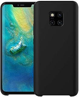 Huawei Mate 20 Pro Liquid Silicone Phone Case (Black)