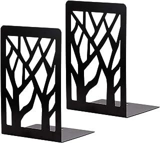 Phonleya Soporte para Libros Soporte de Metal - Soporte para Libros de Sombra de árbol Hueco para Sala de Estudio en casa ...