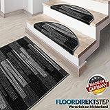 Floordirekt Läufer Teppich Brücke Teppichläufer Veneto 67 cm breit anthrazit grau (67 x 150 cm) - 4