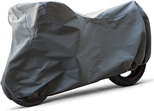high quality OxGord Superior Motorcycle Cover - Basic Out-Door 4 Layers - new arrival Ready-Fit / Semi Custom - Fits up to 120 2021 Inches outlet sale