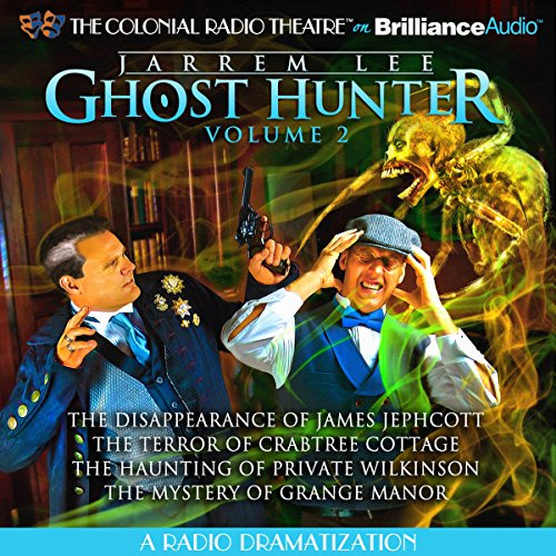 Jarrem Lee - Ghost Hunter audiobook cover art