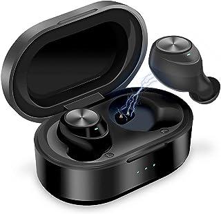 YOMYM Audífonos Bluetooth Inalámbricos, Mini Auriculares B
