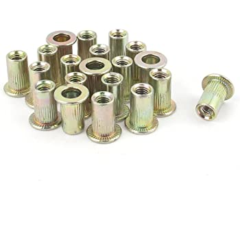 100PCS M33 MM Blind Hole Pressure riveting Stud//Rivet nut Column//Pressure riveting Pieces Rivet Nut