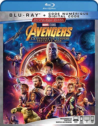 Avengers : La Guerre de l'Infini [Blu-ray] (Bilingue) - 0