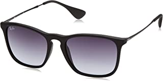 Ray-Ban Women's RB4187 Chris Square Sunglasses