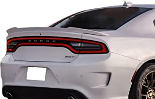 California Dream Compatible With: 2015-18 Dodge Charger Factory Style Hellcat Spoiler Painted (GLOSS BLACK PX8)