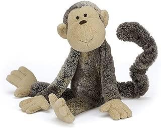 Jellycat Mattie Monkey Stuffed Animal, Medium, 17 inches