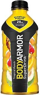 BodyArmor SuperDrink, Electrolyte Sport Drink, 28 oz, Pack of 12 (Tropical Punch)