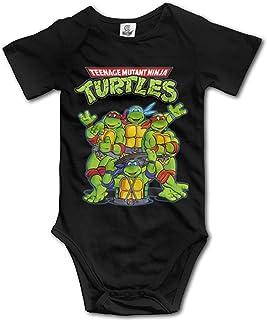 Dezzert030 Teenage Mutant Ninja Turtles Baby Mädchen/Jungen Kurzarm Onesies