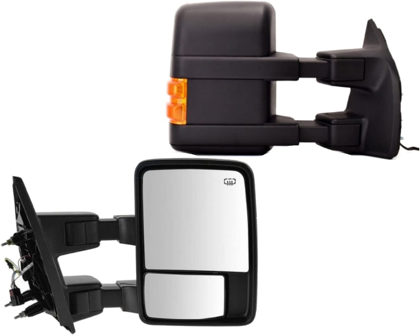 Ezzy Lift Right Side Towing Mirror for Manufacturer OFFicial shop Ford F350 outlet F4 Powered F250