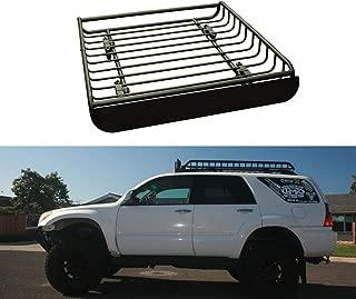 XINGXINGNS portaequipajes Universal para techo de coche, portaequipajes de techo de metal para coche, portaequipajes Universal para coche SUV