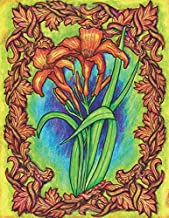 Orange Day Lilies - Fantastic Flora-mentals - Blank Notebook: Beautifully Colored Flower Covers with lined paper for journaling and note-taking (Beautiful Covers Blank Notebooks & Journals)