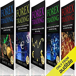 Forex Trading: The Bible: 5 Books in 1 audiobook cover art
