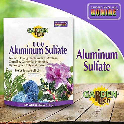 Bonide Products INC 705 037321007050 Aluminum Sulfate, 4 Pound, Multi
