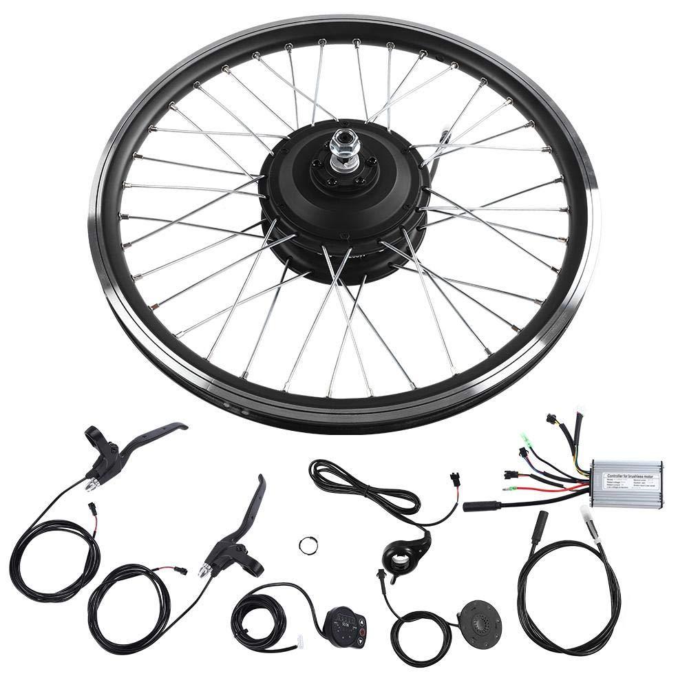 Kit de Motor de Bicicleta Eléctrica,Rueda de 20 Pulgadas 24V 250W ...