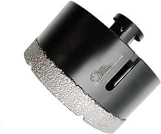 SHDIATOOL Diamond Core Drill Bits 4 Inch for Porcelain Ceramic Tile Marble Brick Vacuum Brazed Hole saw 102mm