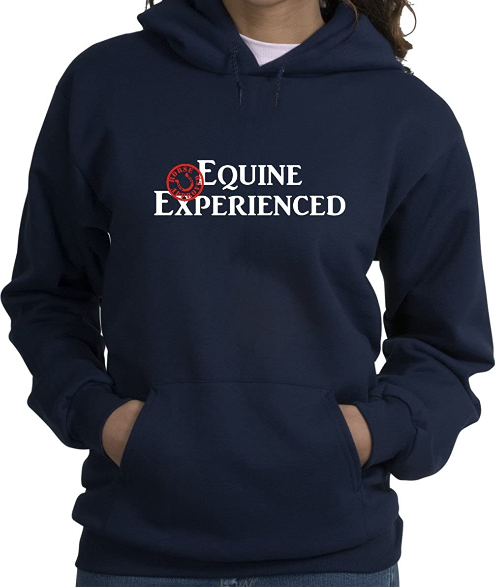 Finally popular brand Equine Experienced Horse Approved favorite Navy Blue Hoodie