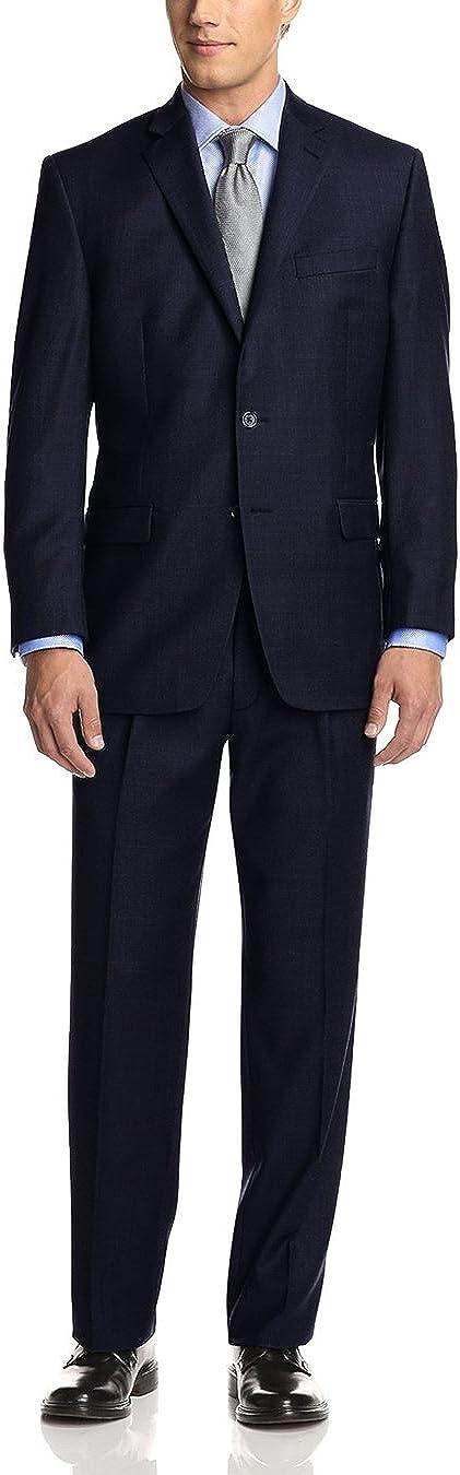Fuomo Men's Two Button Classic Fit Suit