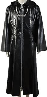 Yancos Kingdom Hearts Organization XIII Roxas Faux Leather Cosplay Costume