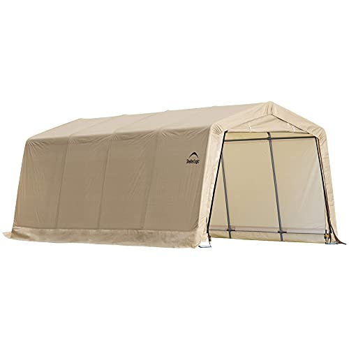 ShelterLogic 10 x 20 x 8 All-Steel Metal Frame Peak Style