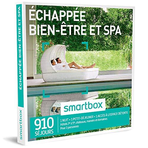 SMARTBOX - Coffret Cadeau - ECHAPPEE BIEN-ETRE ET SPA - 495 Sejours : Hotels de 3 a 5, Chateaux et Demeures Anciennes