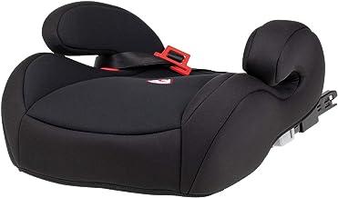 capsula Sitzerhöhung mit Isofix Autokindersitz Gruppe 3 Kindersitzerhöhung mit Gurtführung 22 bis 36 kg schwarz