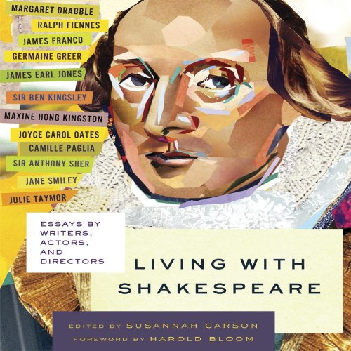 Living with Shakespeare audiobook cover art