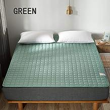 Bed Cushion Mattress Tatami Protection Cushion Thin Silent Non-Slip Solid Color Hotel Protection Cushion Washable Mattress...
