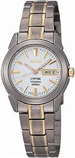 SXA115P1 Ladies Sapphire Titanium Watch