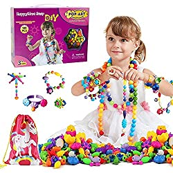 Snap Pop Beads Girls Toy