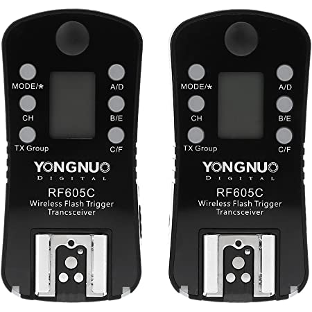 Yongnuo Rf605c Kabellose Fernbedienung Für Blitz Elektronik